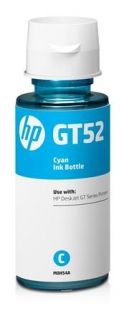 HP HP GT52 Cyan Original Ink Bottle (M0H54AE)